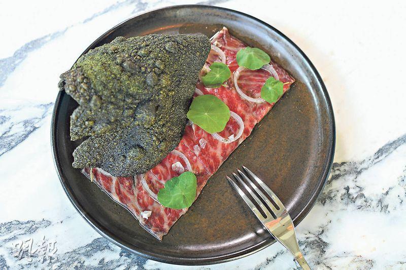 創意澳洲菜進駐藝術館 無敵維港和牛脆餅爭寵