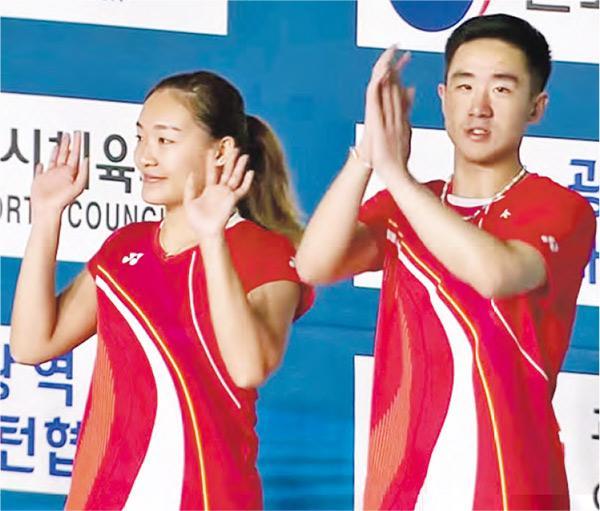 鄧謝配奪今年第二冠 世巡韓國站登頂 進軍奧運前景明朗