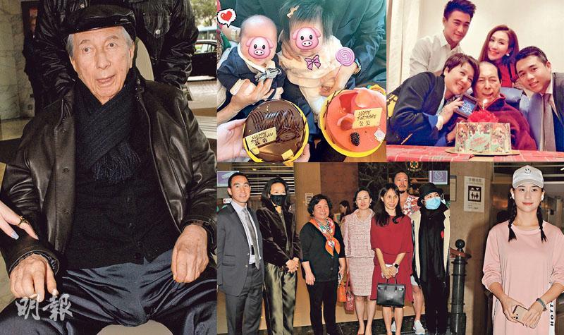 賭王三代同堂賀98歲生日 何鴻燊願望繼續抱孫 叫猷亨加油