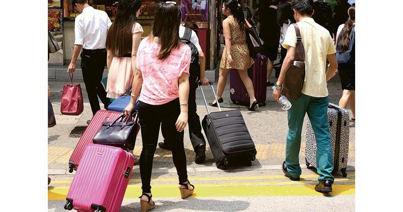 內地客上月按年大減200萬 整體訪客跌43% 泰韓跌幅達六成