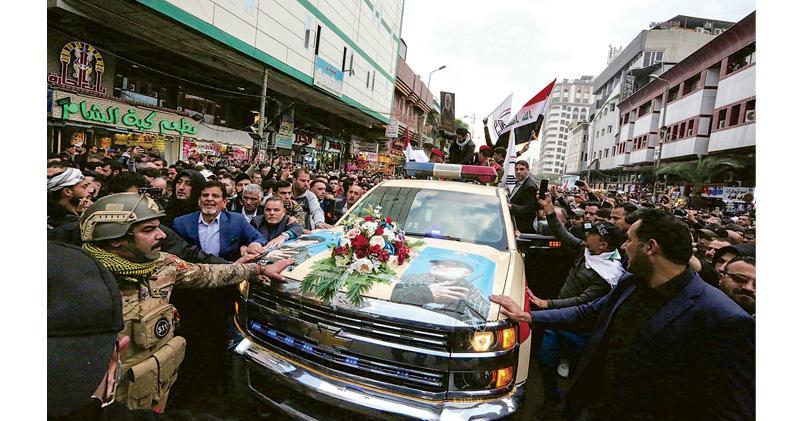 伊朗大將被殺 伊拉克勢成「美伊角力」磨心 撤軍呼聲重燃 專家料美影響力減弱