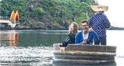 日本新潟佐渡島過暖冬 坐千尋盆舟「蠔」食打太鼓