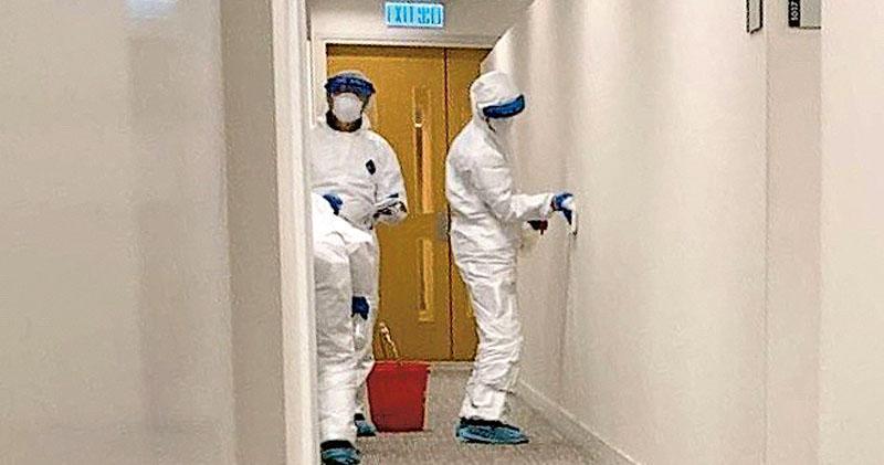 新增3確診 皆曾與染疫親友聚會 一為社署職員 辦事處關閉消毒