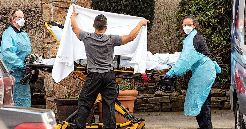 美現死亡個案 華盛頓州入緊急狀態 特朗普被指淡化疫情 學者批忽視西班牙流感教訓