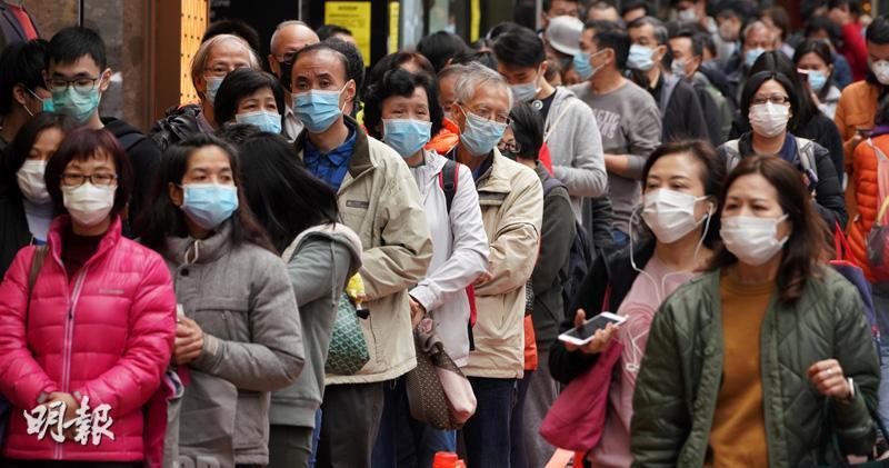 港大研究:呼氣可帶冠毒 外科罩盡隔 世衛再審視佩戴忠告 或推高全球需求