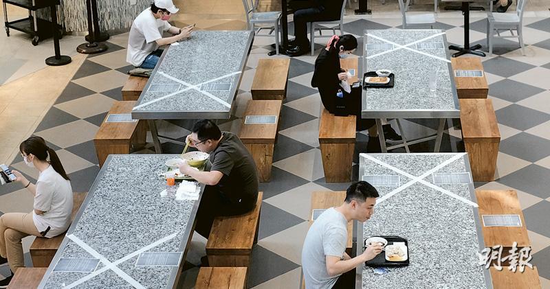 食肆4人一枱擬放寬 日內決定 議員:限聚令需同步鬆綁 否則政策矛盾