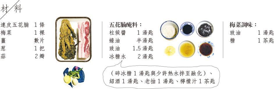 【家常便飯】梅菜扣肉 開闊餐桌系譜