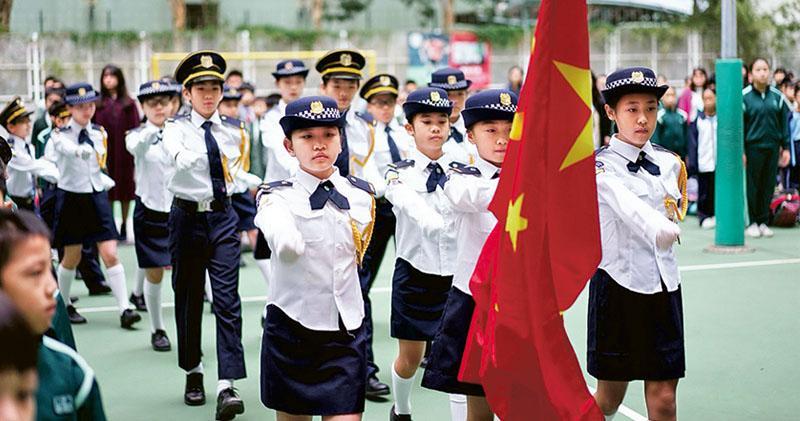 教局指引:師生違國歌法 嚴重可報警 規定元旦、七一、國慶活動升旗奏唱