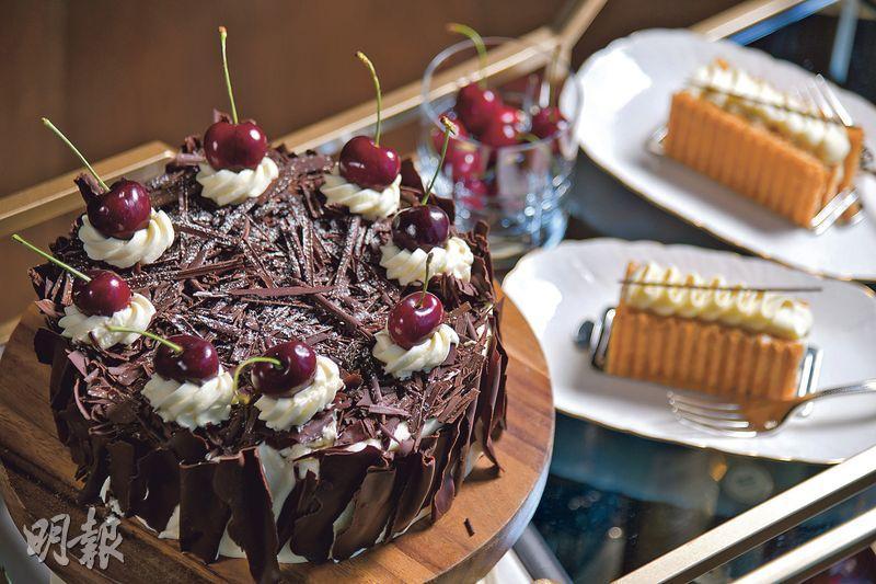 小村版本「兒童不宜」?  德廚示範正宗黑森林  蛋糕啖啖車厘子鮮甜