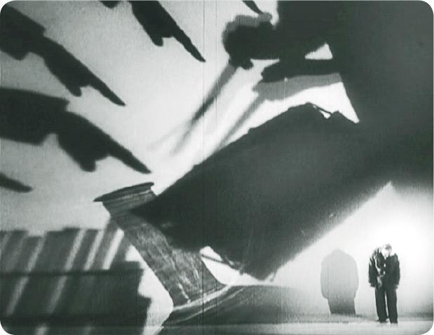 《靈的秘密》——《靈的秘密》(1926年)為早期有關心理分析的電影,導演利用影像技巧描繪恐懼。(受訪者提供)