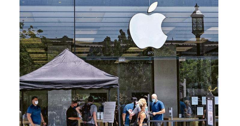 蘋果重奪全球市值一哥寶座 上周五股價急升一成 市值超沙特阿美