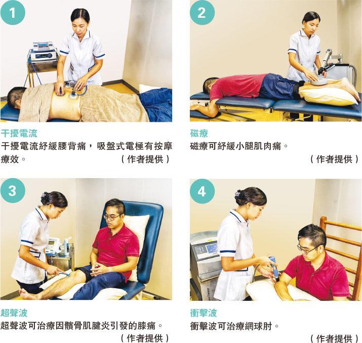 埋首工作長用手機 致組織受傷 物理電療 運動踢走一身痛症