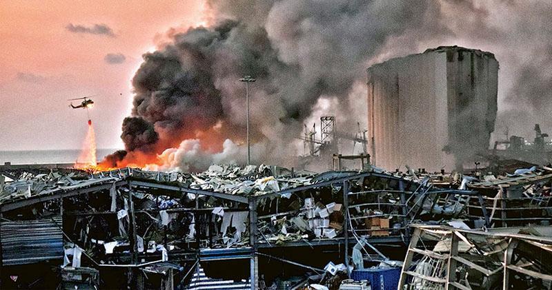 6年無視風險  海關促處理無回音  貝魯特大爆炸 港口2000噸化學物惹禍