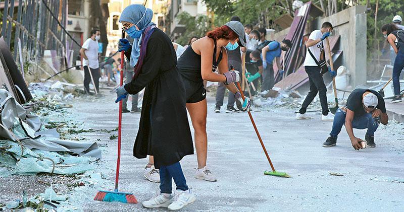 貝魯特人轟政府無能 絕望中自救  重燃反政府怒火  醞釀示威浪潮