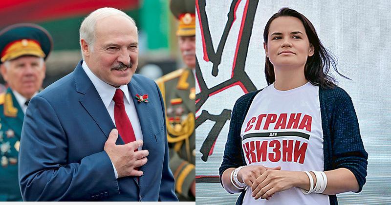 白俄總統大選 主婦撼26年專制統治 疫情經濟夾擊人民求變 法德促公平選舉