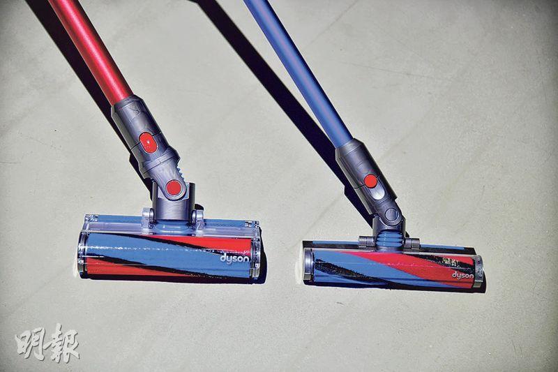 吸塵機「明星」瘦身登場 扭轉接頭零死角打掃