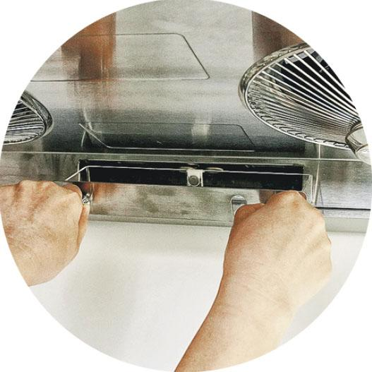 e新品:雙清洗抽油煙機 蒸氣熱水自動清潔