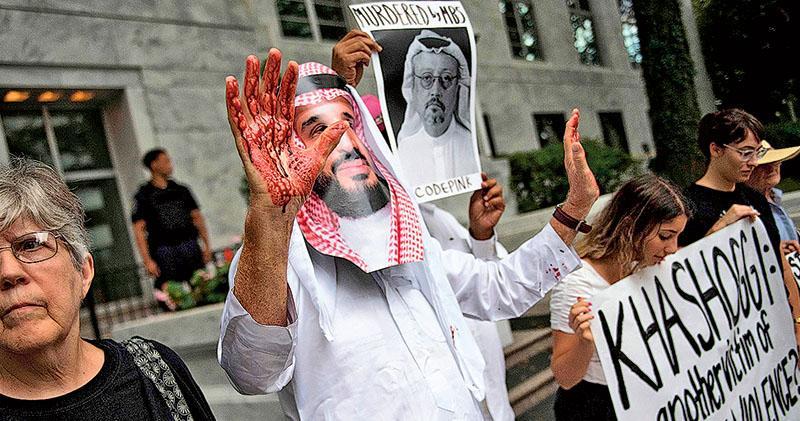 沙特記者卡舒吉案被告減刑  被轟嘲弄司法  利雅得終審  5死囚改判20年