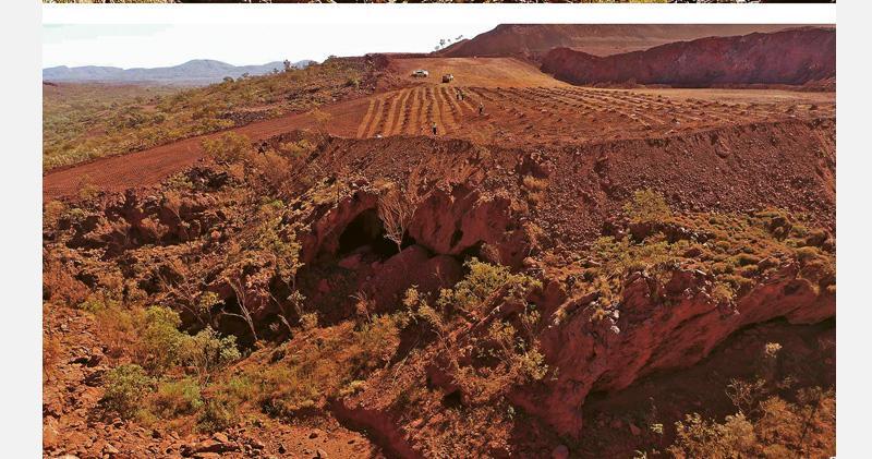 毁西澳原住民遺址 礦企CEO落台 岩洞逾4.6萬年歷史 力拓高層減薪未息民憤