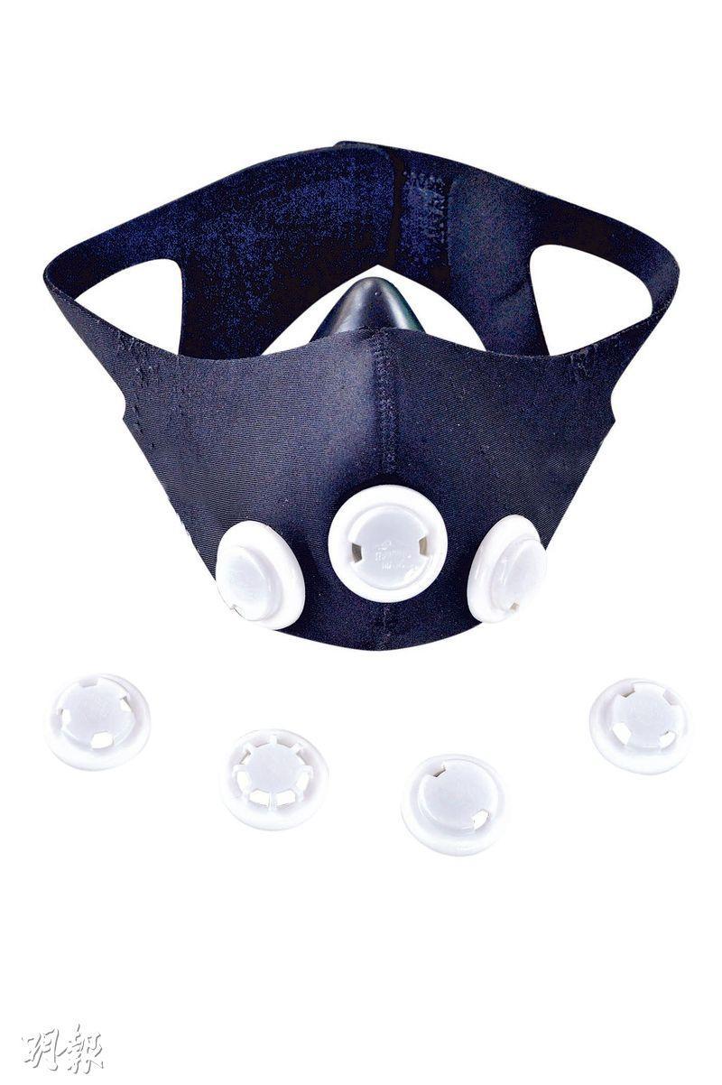 戴口罩做運動 保持社交距離 專屬口罩設計助減呼吸不適