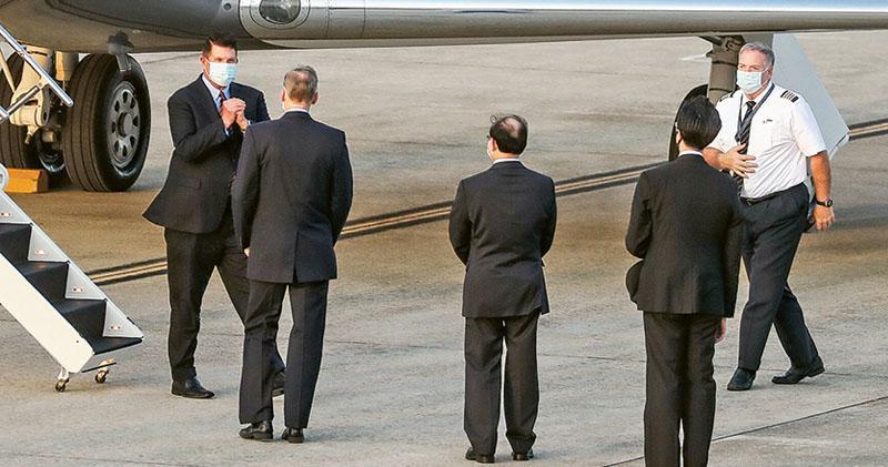 美次卿訪台  未提主持經濟對話  台總統府:堅實伙伴  北京:嚴正交涉
