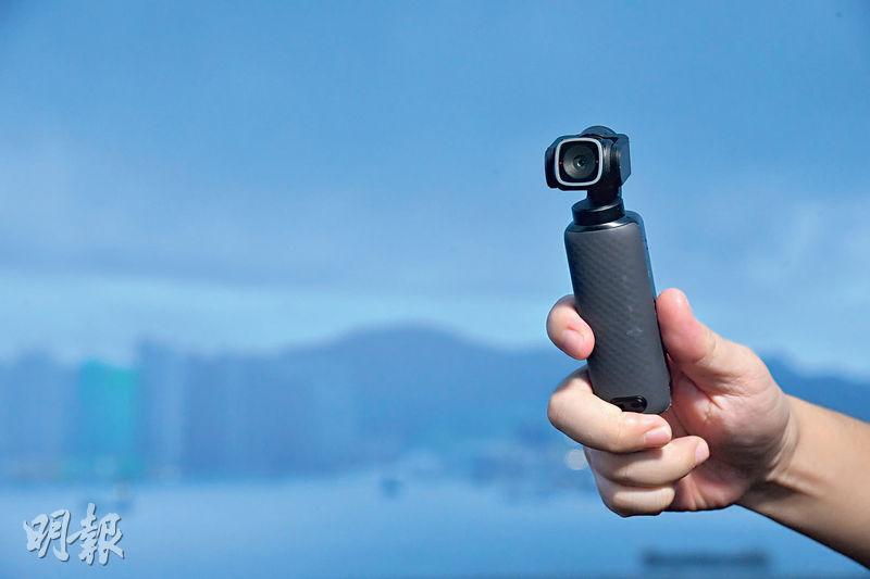 內置三軸穩定器 輕如手機 掌上4K攝錄棒 隨時開live