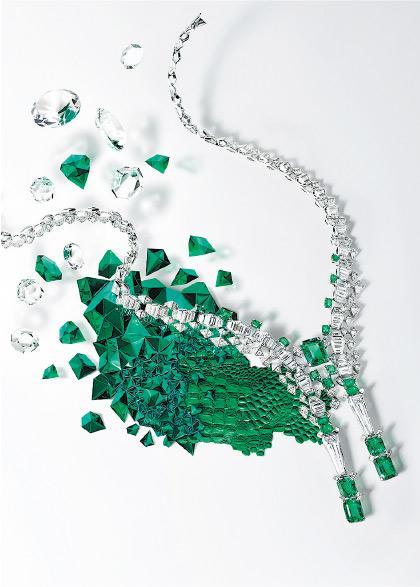 【高級珠寶】Cartier寶石建構奇幻世界 帶你走進藍寶河流 探索粉紫雪豹