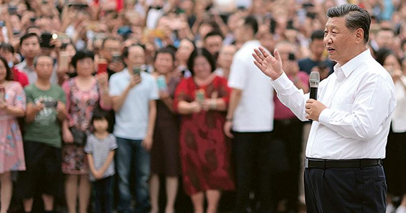 赴深圳特區紀念活動 「宣示改革開放堅定不移」 習:要走自主創新自力更生路