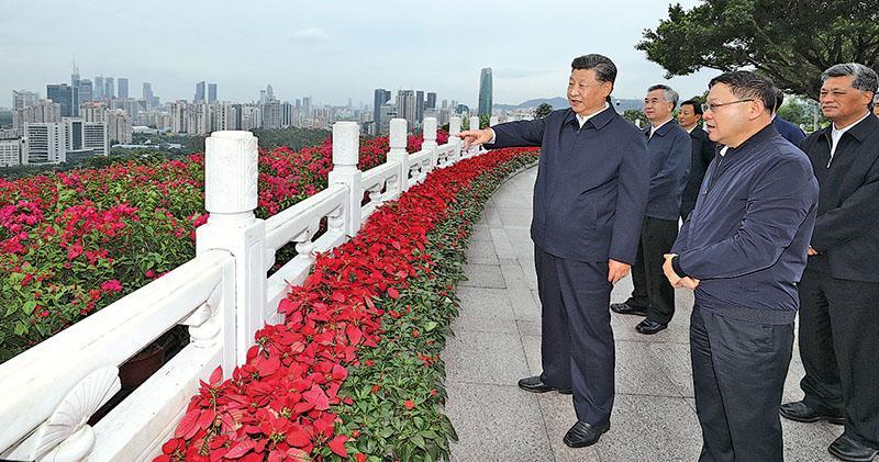 習籲深圳創建社會主義現代化範例 總結十經驗 授權重要領域改革自主權