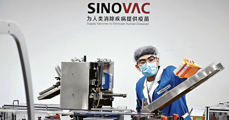 中國積極推銷疫苗 多國表態採用 美智庫:「口罩外交」失利 圖「疫苗外交」扳回一局