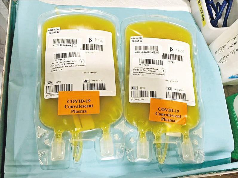 新冠肺炎 | 康復者身上收集「恢復血漿」 6成人康復 孔繁毅: 重症病人死亡率減半