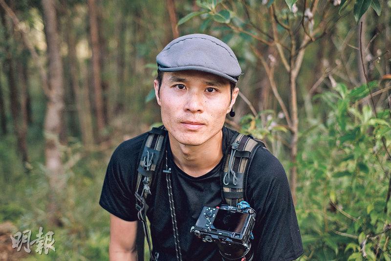 伍詠言(David)——從事山系攝影師約7年(賴俊傑攝)