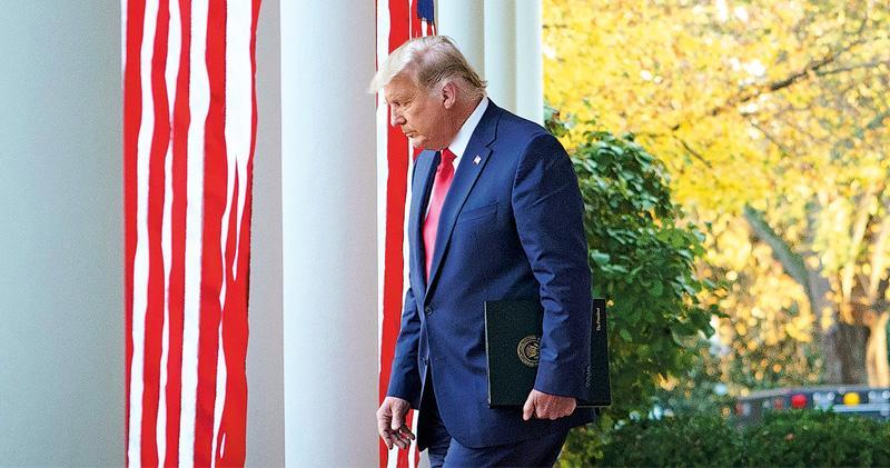 美媒推算再失落兩州 同日司法戰失利 「時間將證明」 特朗普被指暗示認輸