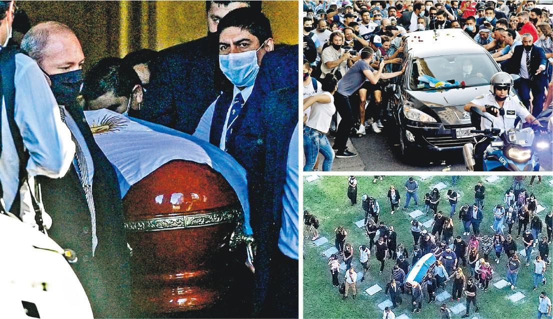 馬拉當拿促成球例變革 前後護脛無聲抗議 屢被侵犯埋VAR種子