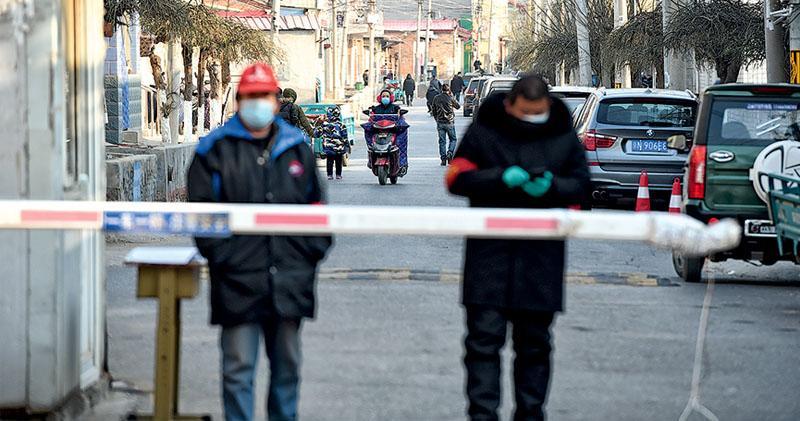 新冠上報一周年 內地疫情現反彈 北京兩區入「戰時狀態」 書記蔡奇視察防疫