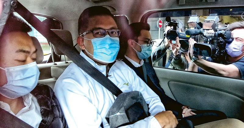 提游乃強因7‧21受查  林卓廷被捕  廉署控違《防賄例》  林:罪名是「鍥而不捨追究勾結」