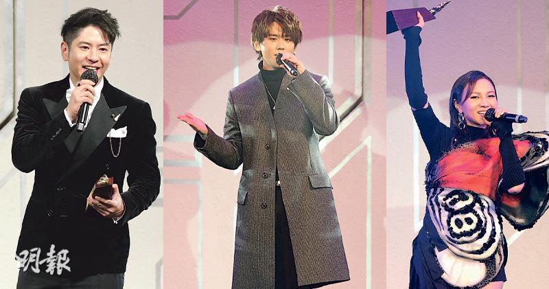 姜濤獲我最喜愛男歌手兼歌曲大獎 許廷鏗江海迦首奪男女歌手金獎