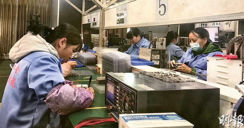 宅經濟催生  東莞廠訂單疫下反增  海外停工  工廠:10年來最好生意