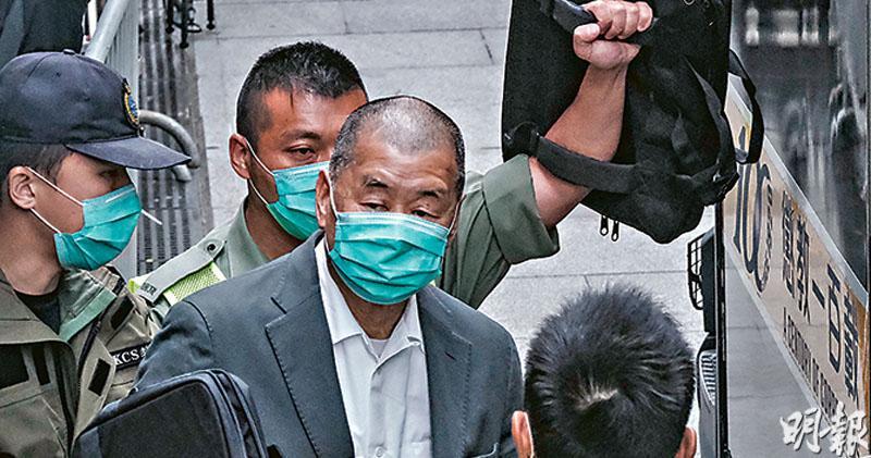 終院定國安案全新更高保釋門檻  律政司上訴得直  黎智英續還押