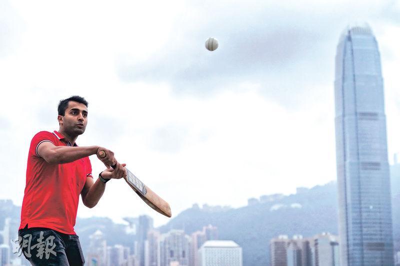 巴裔港將打板球破歧視 拜年體驗華人傳統 倡運動與溝通達共融