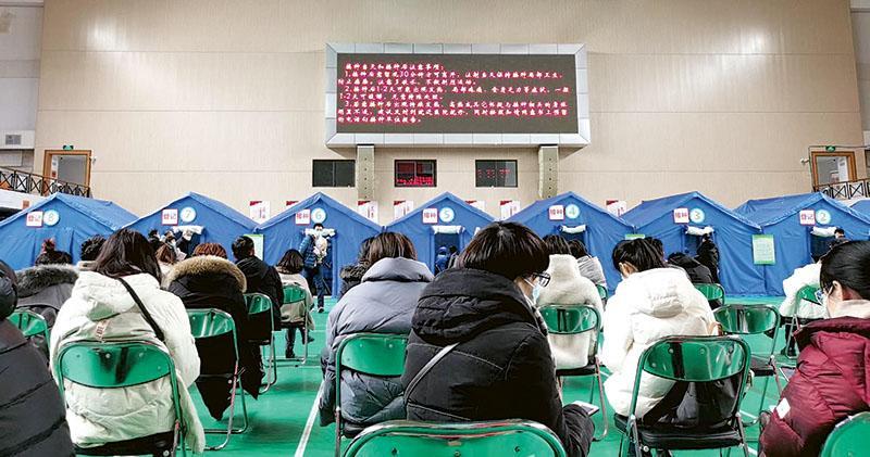 京啟動全民接種疫苗 料5月完成 逾500萬人預約 不能選擇品牌