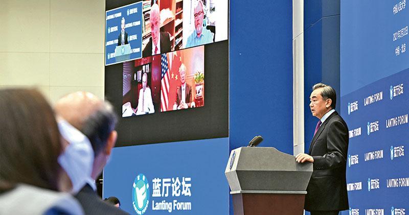 王毅籲「撥亂反正」 向拜登政府提四建議 美專家:中國官員「老生常談」 無助對話邁進