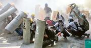 緬「血腥一天」  6城實彈鎮壓18死  聯國譴責軍警暴力對待和平示威者