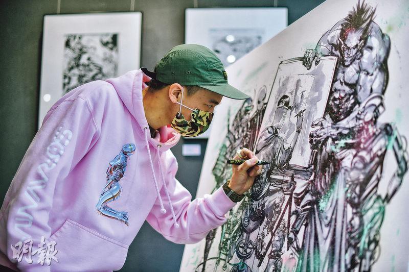 超級英雄漫畫家Pat Lee 克服傷痛 人人皆英雄