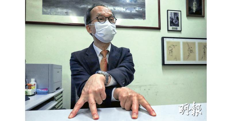 港大劉宇隆:盼中學生今夏可接種 研究計劃招200人打疫苗檢視效果 再擴至小學生