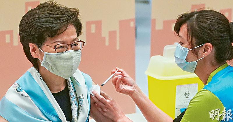 林正財:院友訪客同接種 或允探訪 聶德權:打兩劑後兩周 可享便利措施
