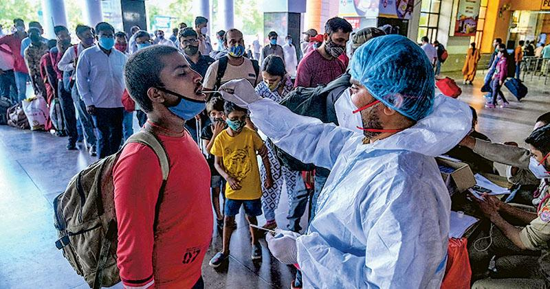 印度確診急增  暫停出口牛津疫苗  影響至4月底  世衛COVAX計劃190成員首當其衝