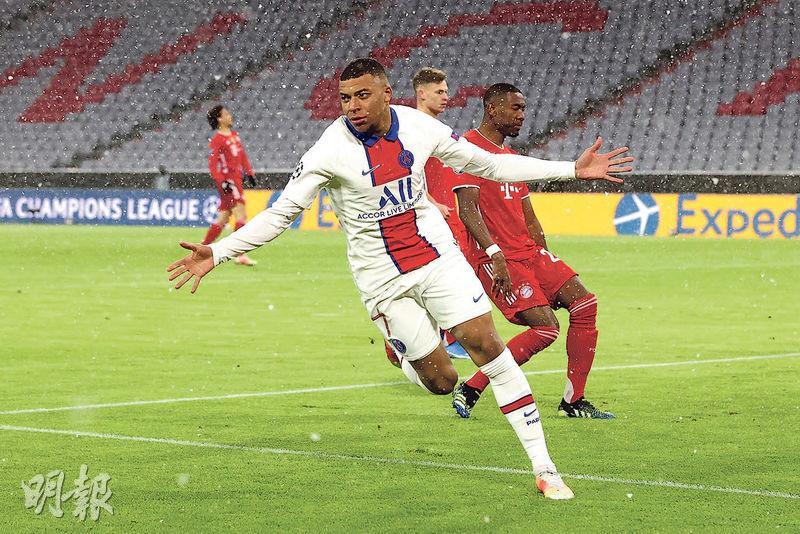 麥巴比領PSG復仇 平紀錄樂做「關鍵先生」 下周乘勝追擊拜仁