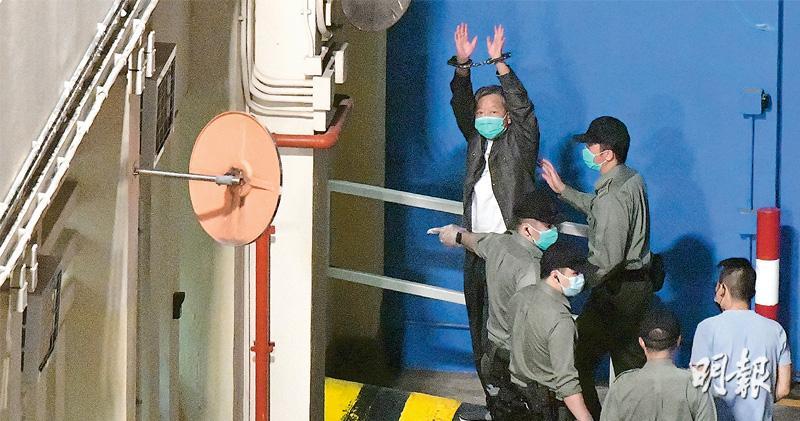 和平「流水集會」 量刑起點最高18月 9人判囚最重年半 李卓人何秀蘭收監 李柱銘吳靄儀緩刑