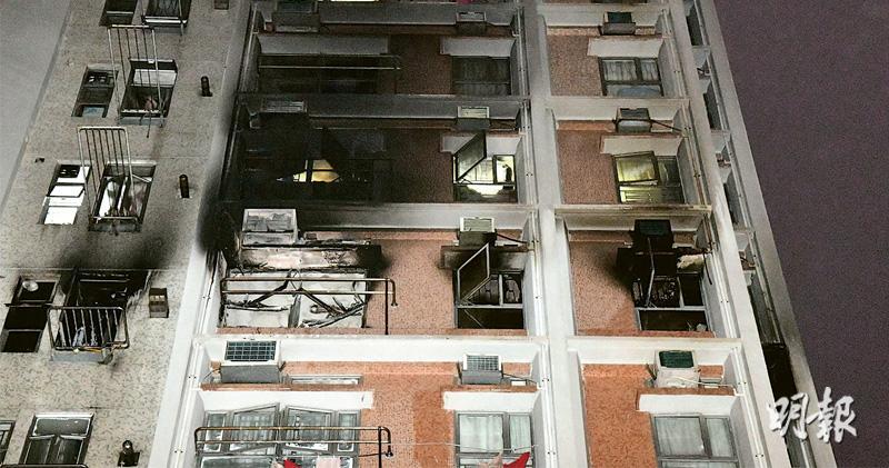 疑鋰電起火 寶達邨六口家4人葬火海 戶主欲救人不果危殆 死者包括2歲女童